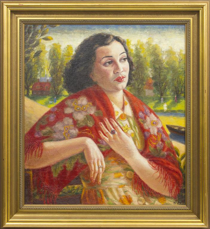 Sievietes portrets Ķīpsalā