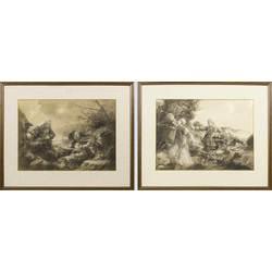 Праздник у Даугавы (2 картины)