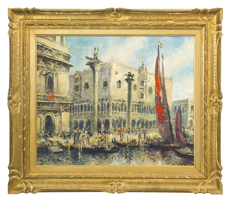 Venēcija- sārtās buras pie Dodžu pils