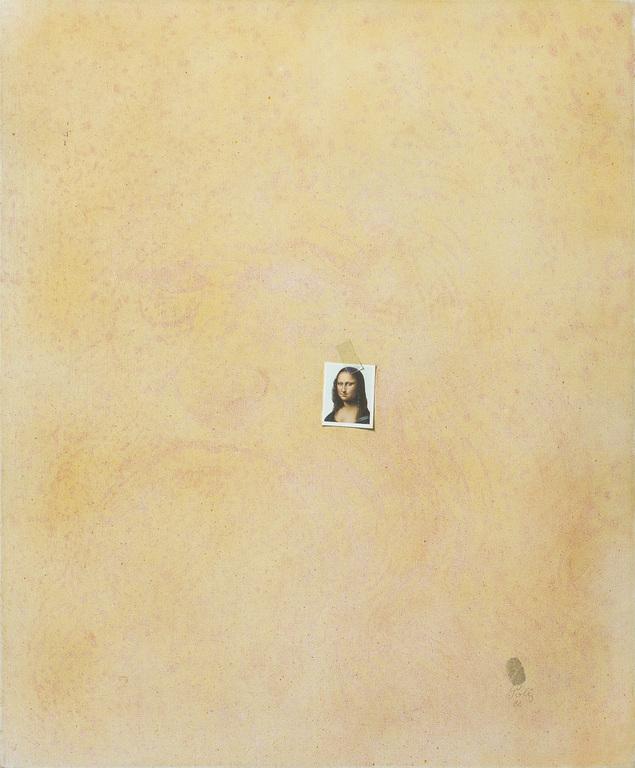 Photo of Mona Lisa's passport