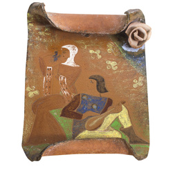 Ceramic wall panno/decor