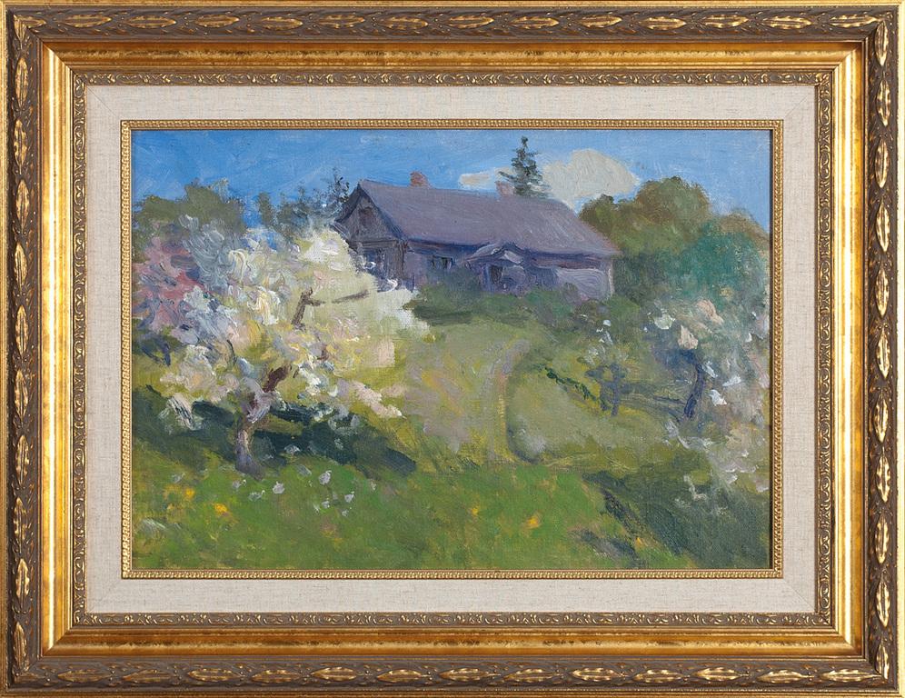 Vinku māja pavasarī