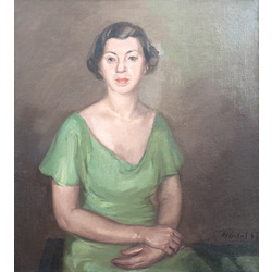 Māsas Ģertrūdes Ubānes portrets