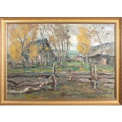 Farmstead in autumn