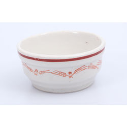 Porcelāna sālstrauciņš art deko stilā