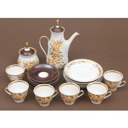 Porcelāna tējas/kafijas servīze 6 personām