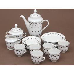 Porcelāna tējas.kafijas servīze 6 personām