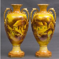 Porcelāna vāzes pāris (2 gab.)