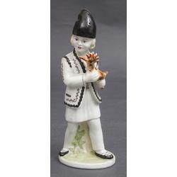 Porcelāna figūriņa (pēc Krievu tautas pasakas)
