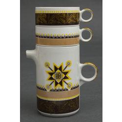 Kafijas kannu komplekts