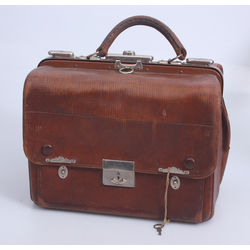 Doctor leather case