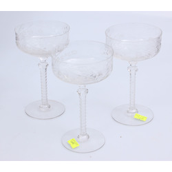 Stikla glāzes 3 gab.