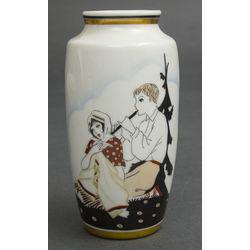 Burtnieks porcelāna vāze pēc S.Vidberga meta