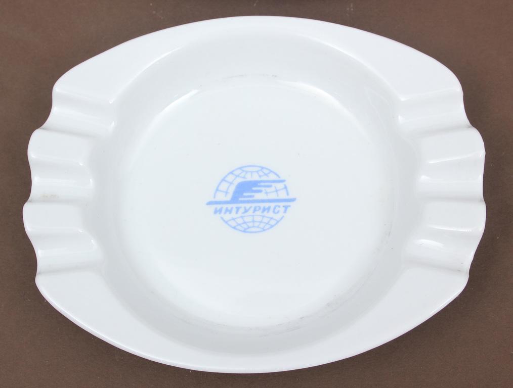 Porcelain ashtrays 2 pcs.