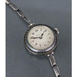 LePare silver watch