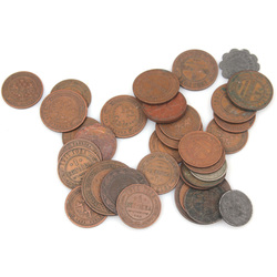 Various Copper Coins (33 pieces)