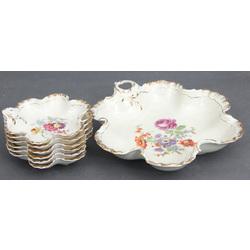 Porcelāna trauku komplekts (1+6 gab.)