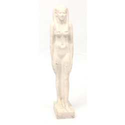 Gypsum figure
