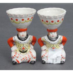 Porcelāna olu turētāji (2 gab.)