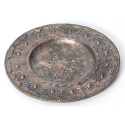 Bronzas dekoratīvais šķīvis