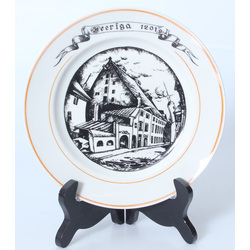 Porcelain plate 'Old town 1201'