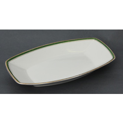 Faience serving plate