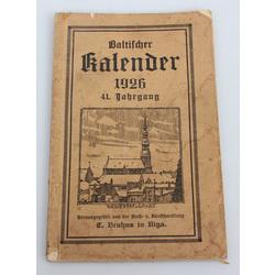 Baltischer kalender 1926
