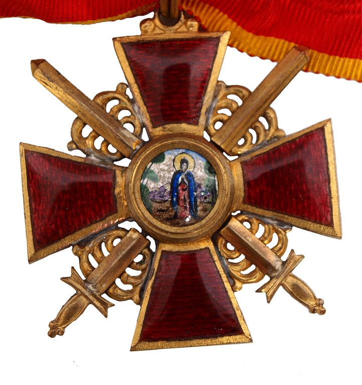 Картинки по запросу Орден святой Анны 2-й степени с мечами
