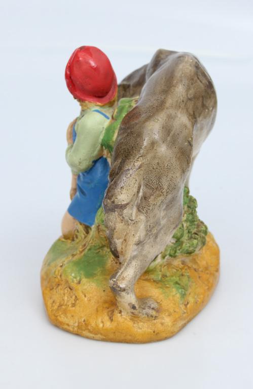 Gypsum figure