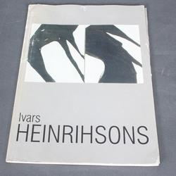 Ivara Heinrihsona izstādes katalogs ar mākslinieka autogrāfu
