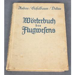 Wortenbuch des Flugwelens(grāmata par aviāciju vācu valodā)