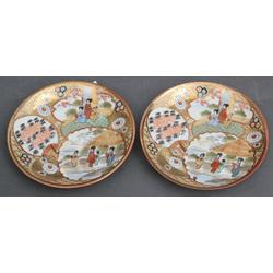 Divas porcelāna apakštasītes