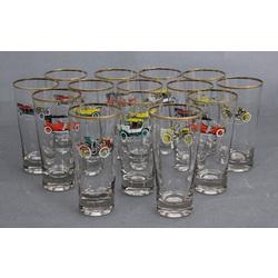 Stikla glāzes (14 gab.)