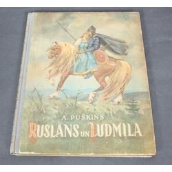 A.Puškins, Ruslans un Ludmila