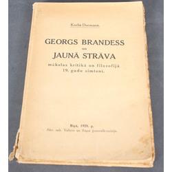 Kārlis DUcmans, Georgs Brandess un Jaunā strāva mākslas kritikā un filozofijā 19.gs.