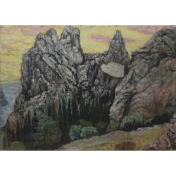 3 gleznas (ainavas)