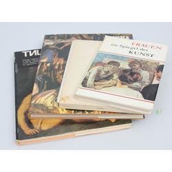 4 grāmatas - Frauen im spiegel der kunst, Mākslinieciskā keramika Turcijā, Muzeja Krakowa, Ticiāns