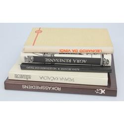 5 grāmatas - Ainava dabas attēlojums latviešu padomju glezniecībā, No Leonardo līdz Pikaso, Agrā renesanse, Leondardo Da Vinči, Rokasspiediens