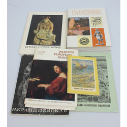 5 books and 1 album of reproductions of paintings (6 pieces in total)