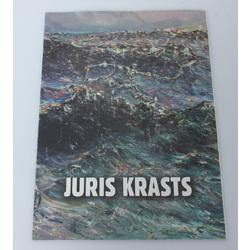 Jura krasta izstādes katalogs ar autogrāfu