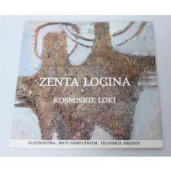 Zenta Loginas izstādes katalogs -