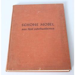 Richard Graul, Schone Mobel aus funf Jahrhunderten