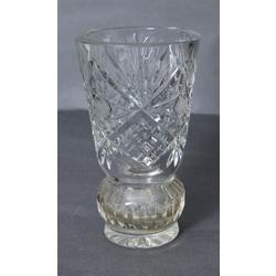 Kristāla stikla vāze