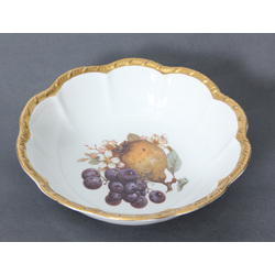 Porcelāna augļu trauks