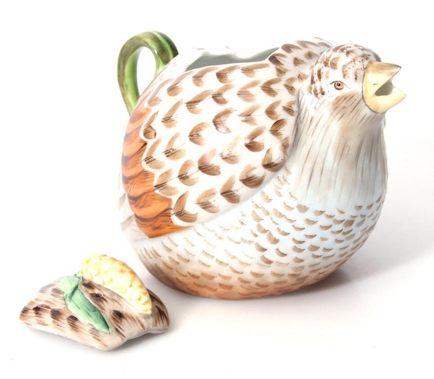 Porcelāna kanna ar vāku