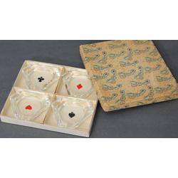 Пепельници 4 шт. в оригинальной коробке