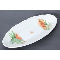 Fajansa servējamais šķīvis