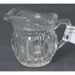 Glass utensil for cream