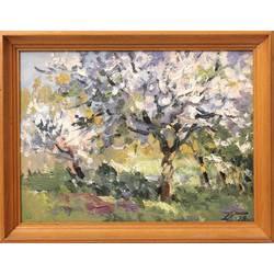 Ziedošās ābeles