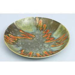 Dekoratīvs fajansa šķīvis